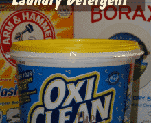 Cloth Diaper Laundry Detergent