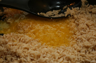 Eggs mixed with rice - Midweek Fried Rice