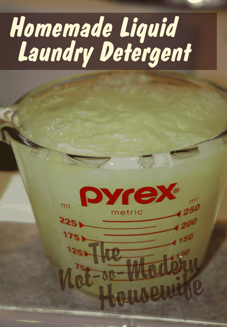 Green Homemade Liquid Laundry Detergent Homemade Ftempo