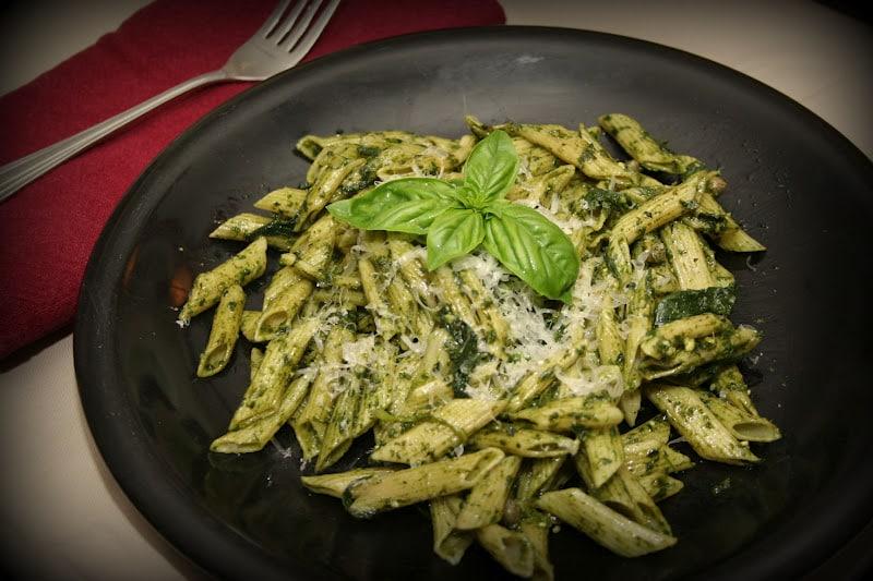 Spinach & Pesto Penne