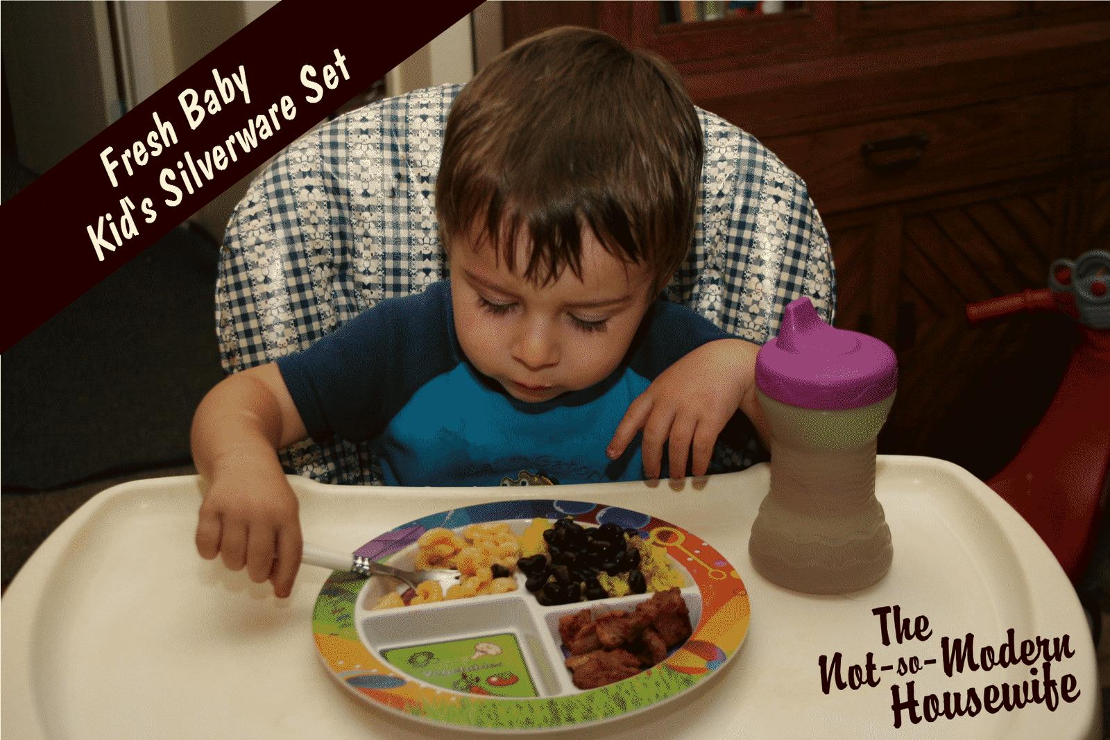 Review: Fresh Baby Kid's Silverware Set