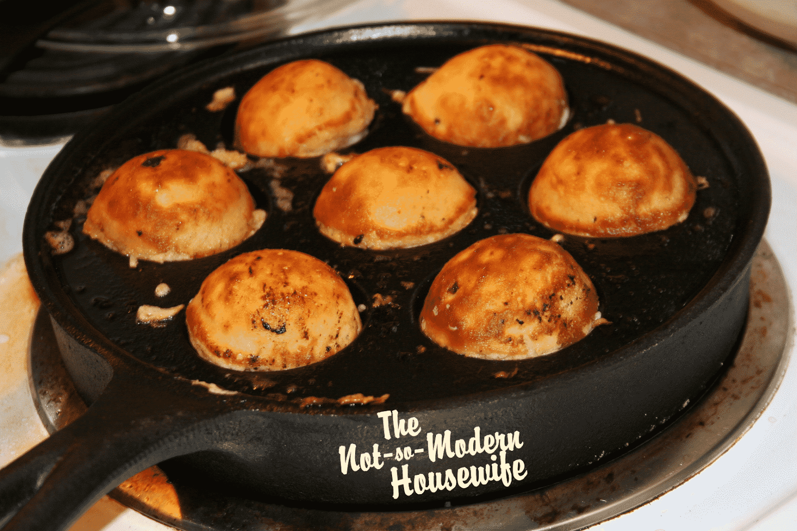Aebleskiver - The Not So Modern Housewife