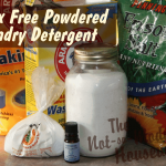Borax Free Powdered Laundry Detergent - The Not So Modern Housewife