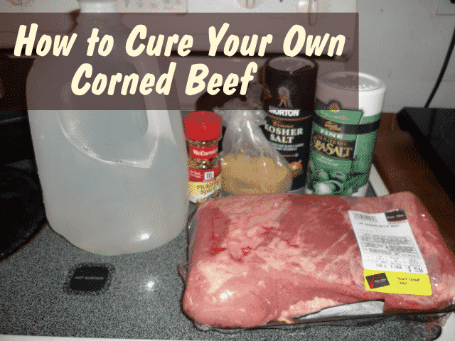 Home Cured Corned Beef Recipe