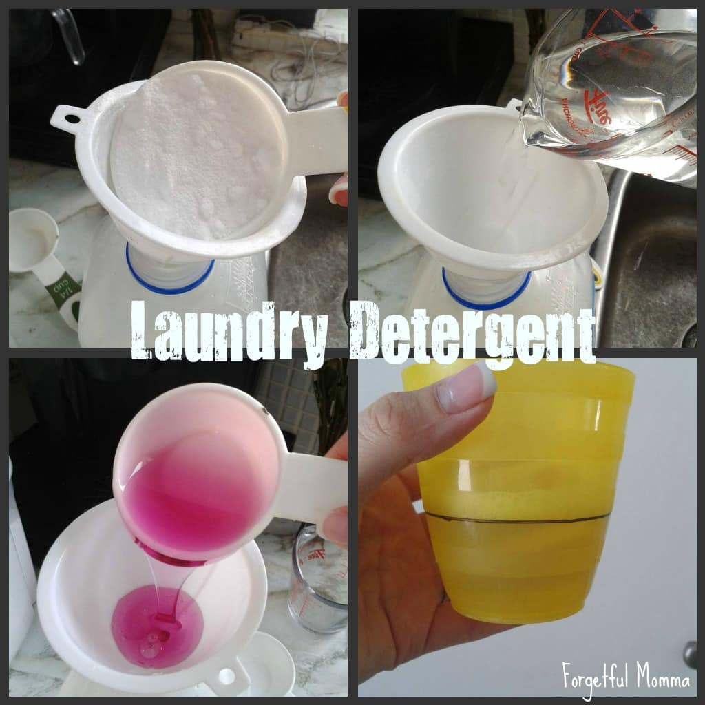 3 Easy DIY Green Cleaning Products for the Home - Laundry Detergent