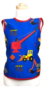 Boys Bib - Trucks & Tractors