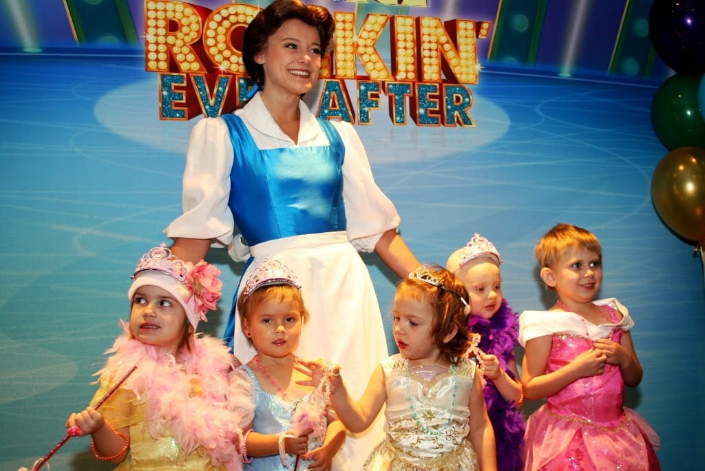 Disney On Ice Gives Princess Makeovers to Five Girls with Pediatric Cancer