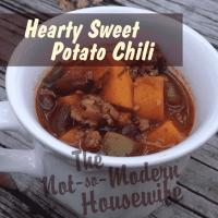 Hearty Sweet Potato Chili