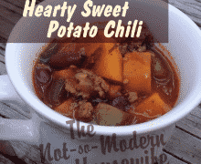 Hearty Sweet Potato Chili