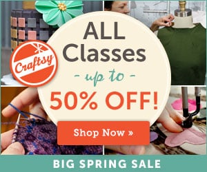 Craftsy Valentine's Day Flash Sale