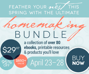 The Ultimate Homemaking Bundle 2014