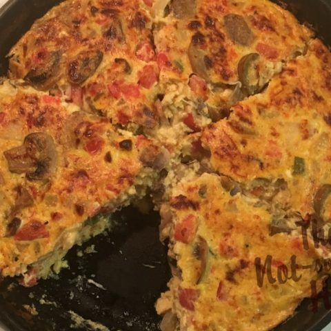 Cast Iron Vegetable Frittata