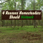 4 Reasons Homesteaders Should Network