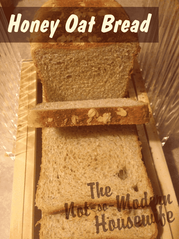 Honey Oat Bread is a delicious and easy way to save money and make sandwich bread at home.