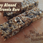 Berry Almond Granola Bars