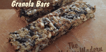Berry Almond Granola Bars - The Not So Modern Housewife