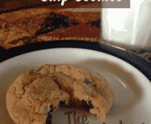 Gooey Chocolate Chip Cookies