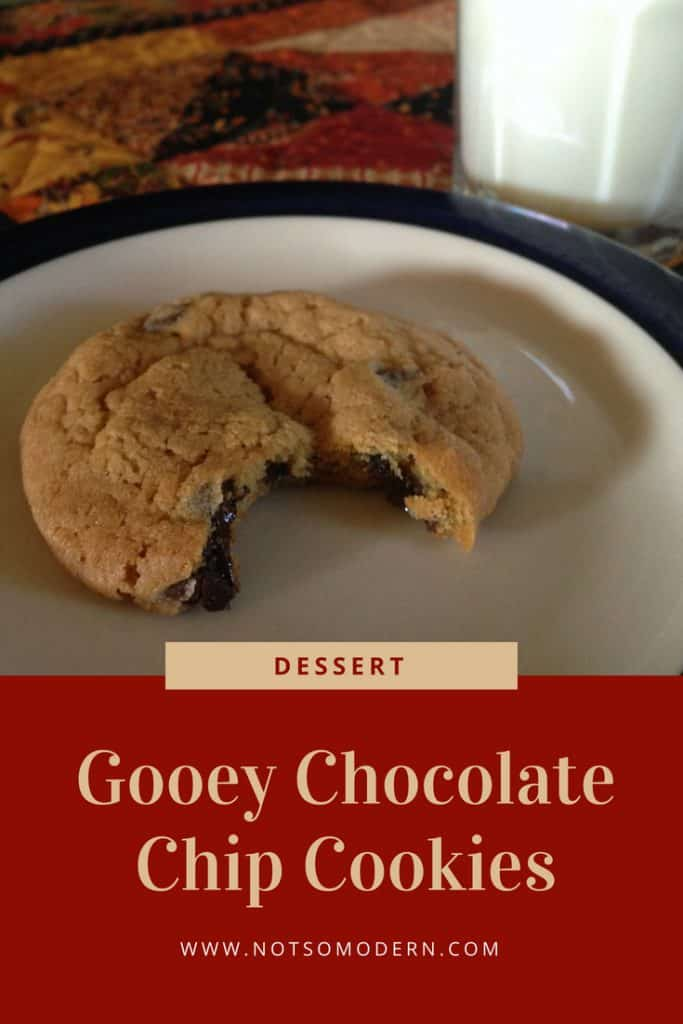 Few things are as satisfying as a delicious and gooey chocolate chip cookie. This recipe has reliably given me perfect cookies with the soft and chewy texture that I love. #cookies #chocolate #dessert