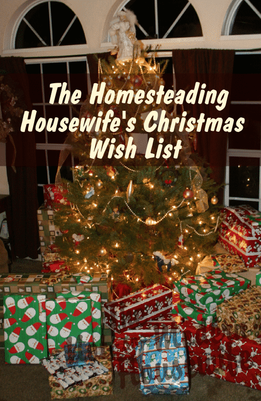 The Homesteading Housewife's Christmas Wish List - a gift guide for practical women