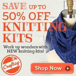 50% off knitting kits from Craftsy (affiliate) - The Homesteading Housewife's Christmas Wish List