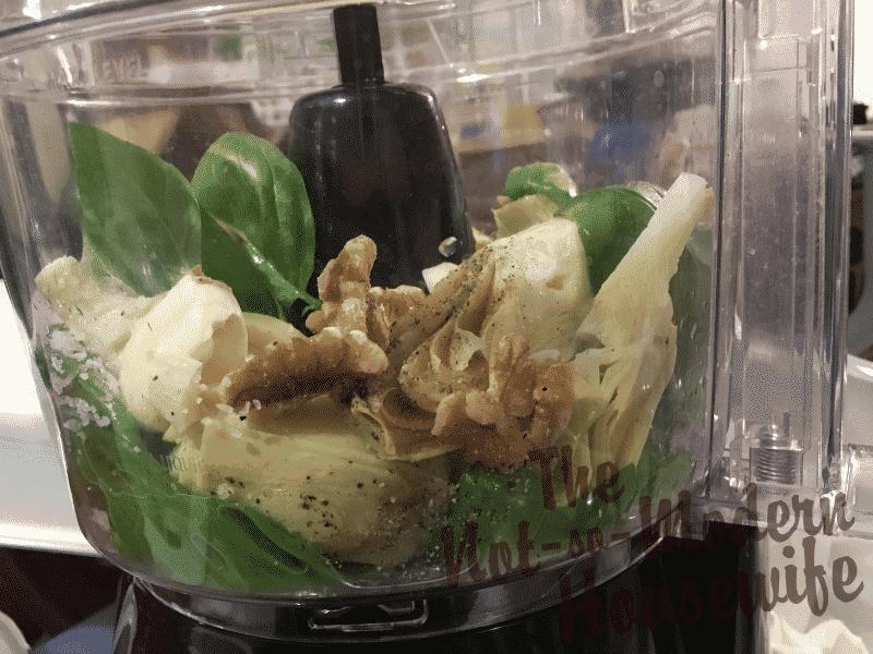 Artichoke Pesto Panini Sandwich Recipe