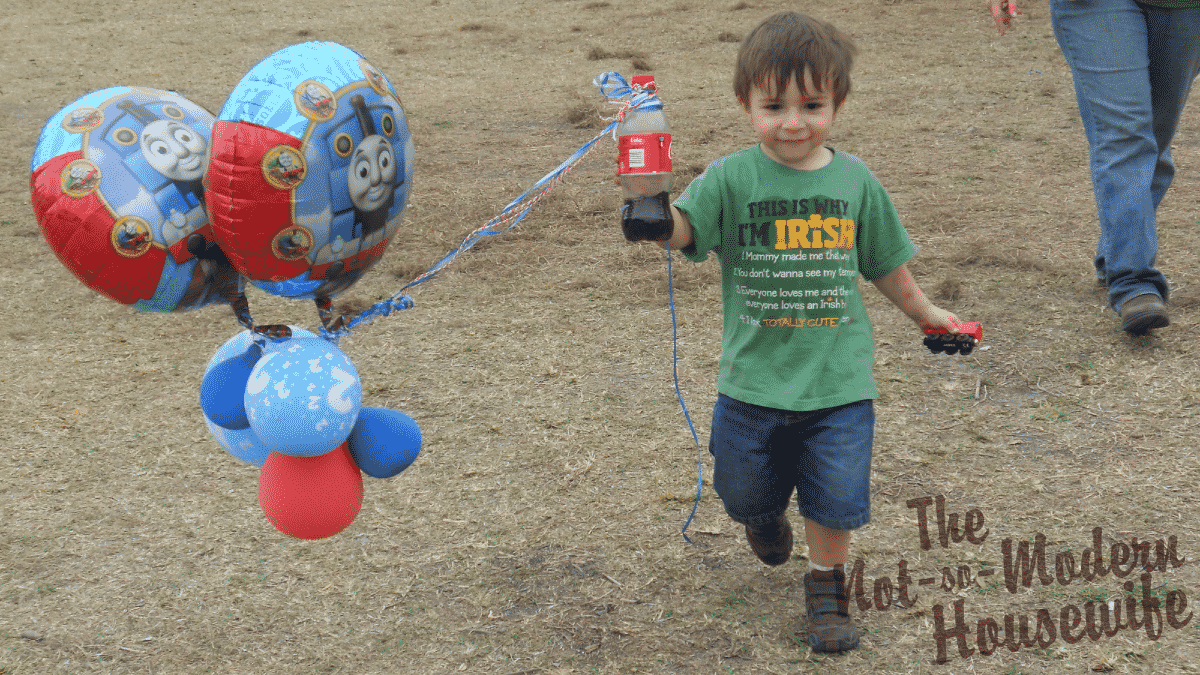 Day Out with Thomas balloons