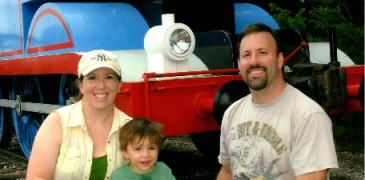 Family with Thomas