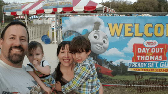 Front entrance of Day Out with Thomas 2016 at the Florida Rail Road Museum