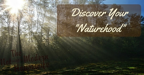 "Discover Your ""Naturehood"" - Tips for getting the kids outside this summer - The Not So Modern Housewife #DiscoverTheForest"