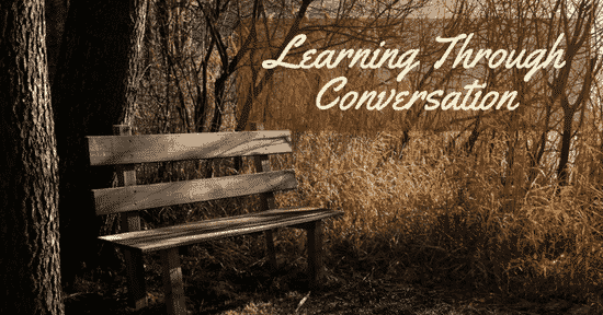 Learning Through Conversation - The Not So Modern Housewife