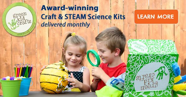 Green Kid Crafts – $20 off ALL 12-month Subscriptions