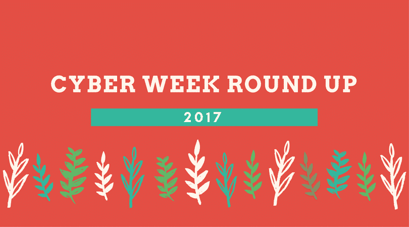 Cyber Weekend Round-Up 2017