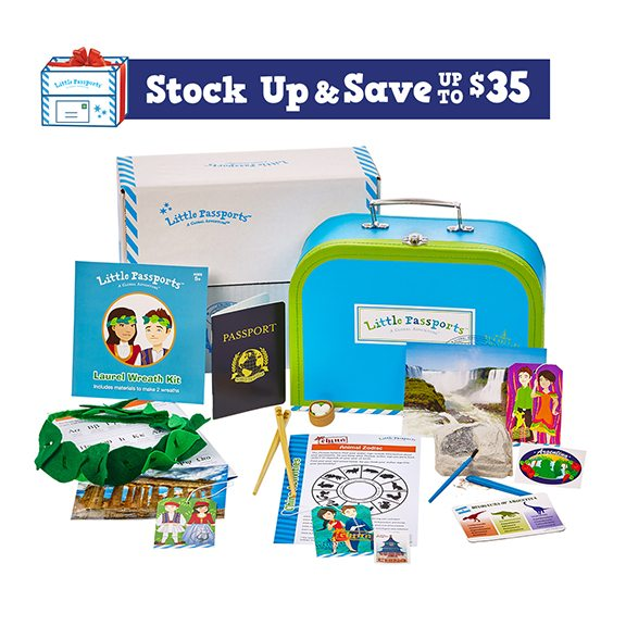 Little Passports Stock Up and Save Sale