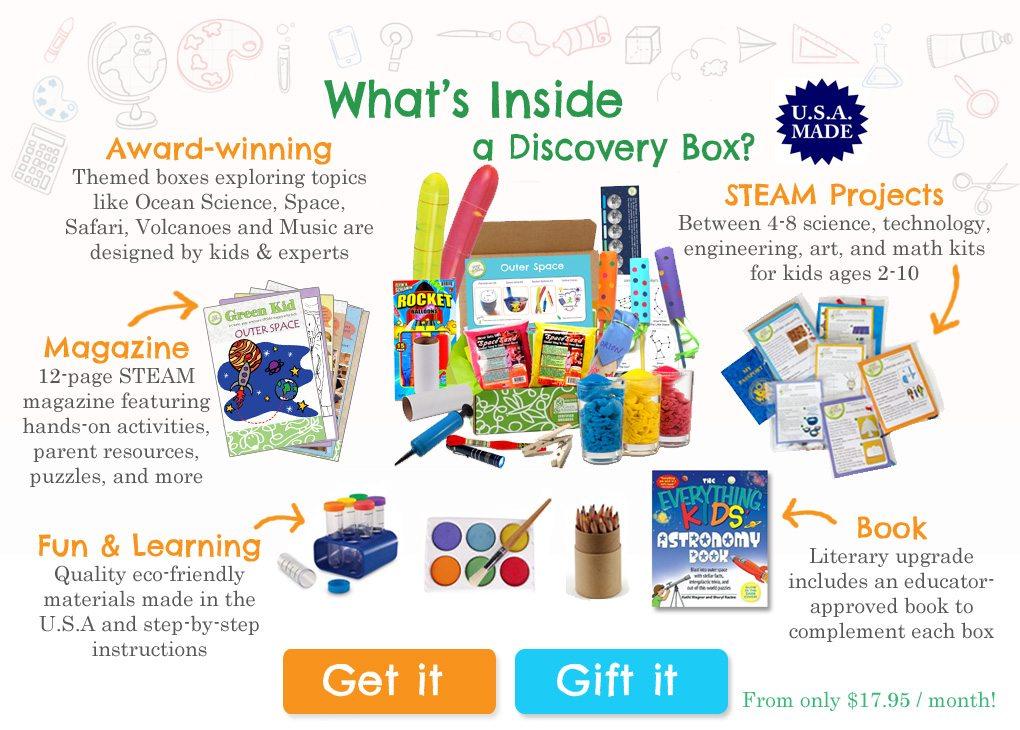 Green Kid Crafts STEM box