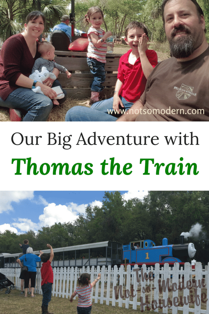 Our Big Adventure with Thomas the Train - Join us at the Florida Railroad Museum as we ride Thomas the Train as part of Day Out with Thomas: Big Adventures Tour #dayoutwiththomas