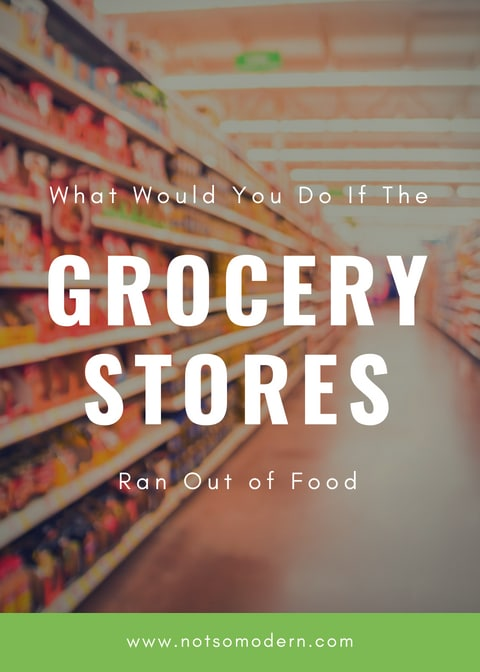 We don't consider that the grocery store may run out of food, or we may not be able to make it to the grocery store. Yet, during a natural disaster, these are both very real possibilities. So how do we combat the possibility of food insecurity? How to we ensure our families remain fed when we can't rely upon anyone else? #foodinsecurity #beprepared #emergencypreparedness #preparedness #prepper #selfreliance #foodsecurity