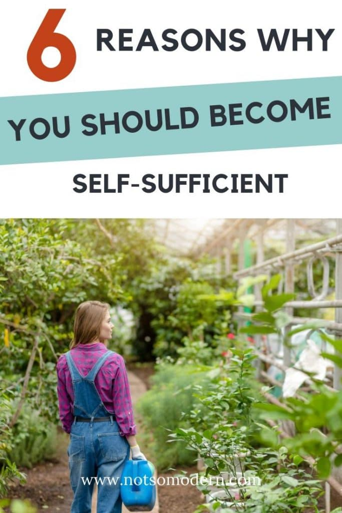 6 reasons why you should become self sufficient