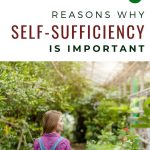 woman standing in garden - 6 Reasons Why Self-Sufficiency is Important