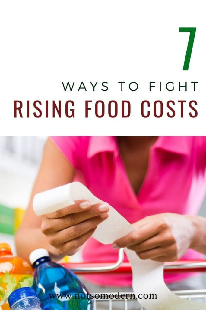 7 ways to fight rising food costs