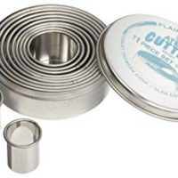 Ateco Plain Edge Round Cutters in Graduated Sizes
