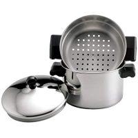 Farberware 70043 Stack 'N' Steam 3-Qt. Covered Saucepot Insert Stainless Steel Steamer Set, 3-Quart
