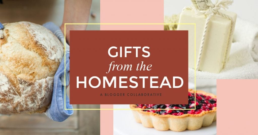 Gifts from the Homestead - easy DIY gifts for loved ones during the holidays. Save money by making your own thoughtful Christmas gifts.