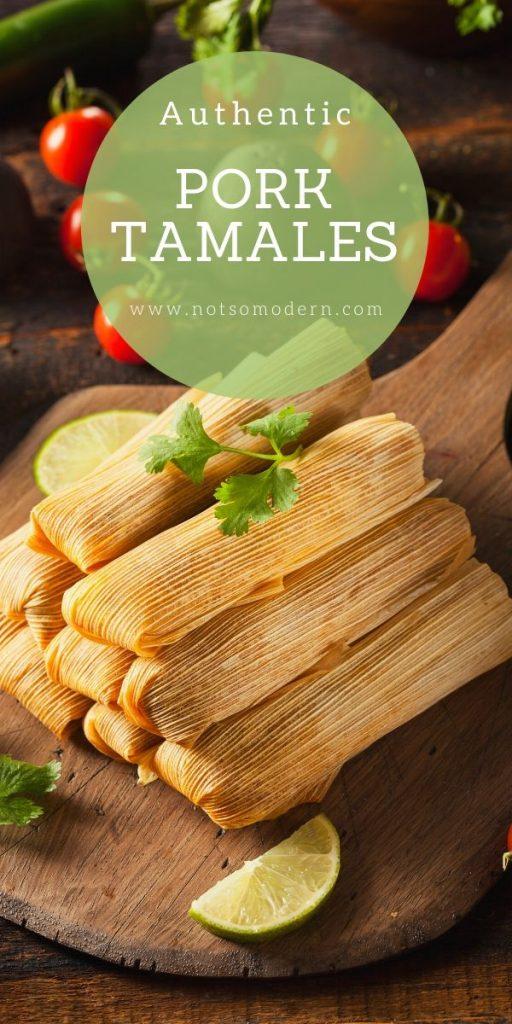 Authentic Mexican pork tamales recipe